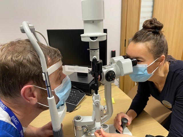 Specsavers donate Slit- Lamp